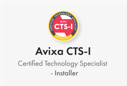 Avixa CTS-I. Certified Technology Specialist - Installer
