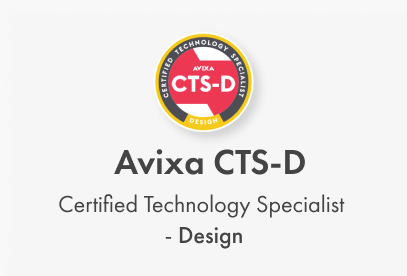 Avixa CTS-D. Certified Technology Specialist - Design