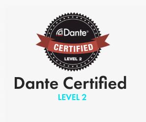 DANTe Certified. LEVEL 2
