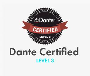 DANTe Certified. LEVEL 3