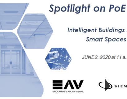 Intelligent Buildings  Smart Spaces Webinar: A Spotlight on PoE Lighting