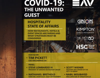 COVID-19: THE UNWANTED GUEST — Restaurants  Hospitality State of Affairs Webinar and Strategies