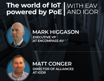 The World of IoT Powered by PoE Webinar